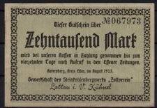 [11448] - Notgeld katernberg, círculo comida, Sindicato del Ensdorf