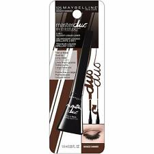 Maybelline Master Duo Eye Studio Glossy 2-in-1 Liquid Liner, 525 Bronzed Shimmer