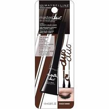 Maybelline Master Duo Eye Studio Glossy 2-in-1 Liquid Liner, 525 Bronzed Shimmer