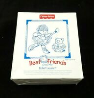 Vintage Fisher Price Best Friends Ballet Lessons Plush Toy 1999