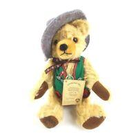Hermann Jointed Mohair Oktoberfest 1995 Limited Edition Teddy Bear w/ Growler