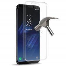 Pellicola In Vetro Temperato Curvo Per Samsung Galaxy S8+, S8 Plus  trasparente