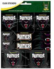 Penrith Panthers NRL Team Logo Sticker Sheet * 7 Stickers Per Sheet