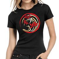 Japanese Design Japan Asia Asien Oriental Art Women Lady Damen Girlie T-Shirt