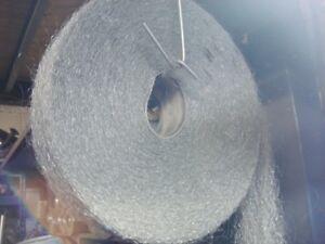 High Grade Stainless Steel Wool  x 1 Metre Roll Coarse