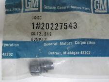 80-96 GM A-Body J-Body Wagon Hatchback Rubber Bumper NOS 20227543