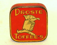 Rare Dutch Droste Cocoa Sample Toffee Candy Tin 1920s