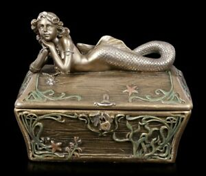 Mermaid Casket - Fantasy Jewellery Box Decor
