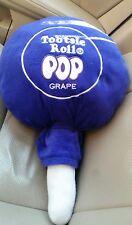 "TOOTSIE ROLL POP purple LOLLIPOP CANDY Pillow Plush STUFFED ANIMAL Toy 20"""