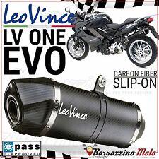 POT D'ECHAPPEMENT LEOVINCE LV ONE EVO CARBON 8290 HOMOLOGUÉE BMW F 800 GT 2013