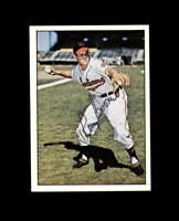 Ray Boone Signed 1979 TCMA Baseball History Cleveland Indians Autograph