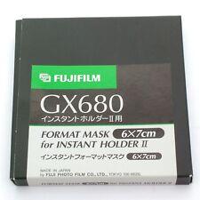 Fuji GX680 III Polaroid Back Mask 6x7cm, BNIB (for Instant Holder II) (12019)