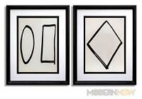 2 Ellsworth KELLY Lithograph LIMITED Ed. ORIGINAL 1964 + (Set of 2 ) **FRAMING