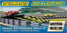 Scalextric C8511 Track Extension Pack - 1x Leap Ramp Up and Ramp Down 2 Straight