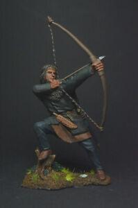 Tin soldier figure Viking, 9-11th centuries 54 mm