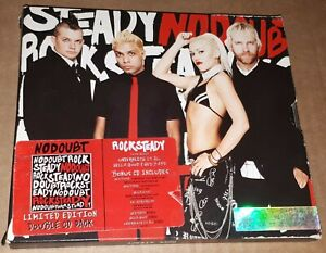 NO DOUBT- 'ROCK STEADY' DOUBLE CD SLIPCASE 2001 electropop dance hall new wave