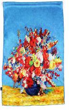 Damen Seidenschal Seidentuch Halstuch silk scarf 100% Seide170x50cm  neu lang