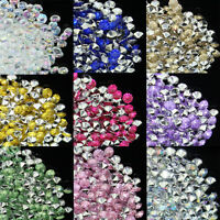 Tiny 1000~10000pcs 4.2mm Acrylic Diamond Table Scatter Crystals Confetti Wedding