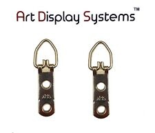 Ads Triangle D-Ring Strap Hanger Hangers 2-Hole Medium Picture Frame, Pkg of 100