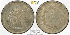 1848-K France 5 Francs Ms60 Pcgs - Scarce Mint & Rare in Mint State