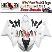 For Yamaha YZF600 R6 2008-2015 YZF-R6 Full ABS Fairing Kit Injection White Pearl