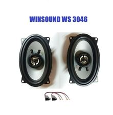 WINSOUND WS 3046 CASSE OVALI per IVECO DAILY 1999> 300W MAX  SPEAKERS AUDIO ANT