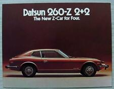 DATSUN 260Z 2+2 Sports Car USA Sales Brochure Apr 1974