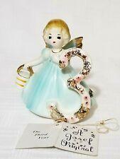 Josef Original Angel Girl Birthday Age 3 ~ Vintage Japan Ceramic