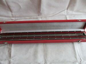 Vermona Doppel Bass Mundharmonika inkl Koffer  60 cm lang