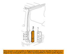 GM OEM Taillight Tail Light Lamp Rear-Housing Left 15589173