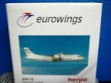 NEW HERPA WINGS 508018 EUROWINGS ATR-72 REGISTRATION D-AEWG MIB 1:500 SCALE RARE