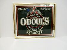 Odouls Mirrored Bar Sign Anheuser Bush Non Alcoholic Brew Beverage Vintage 1990