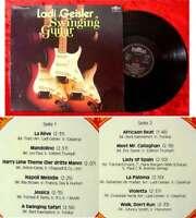 LP Ladi Geisler: Swinging Guitar (1977) (Intercord) D