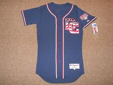 Washington Nationals Navy Alternate Authentic Jersey sz 40 by Majestic New Nats