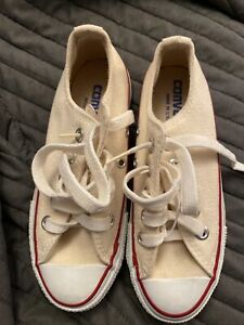 Size 1 - Converse Chuck Taylor All Star OX Natural White