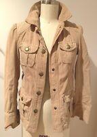 Marc Jacobs Vintage Corduroy Beige Jacket, Marc Jacobs snap buttons