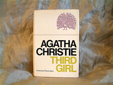 AGATHA CHRISTIE - THIRD GIRL - UK 1ST EDITION 1966 HARDCOVER WITH JACKET
