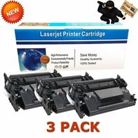 3PKs High Yield Toner for HP CF226X 26X LaserJet Pro M402dn M402n M426fdw MFP