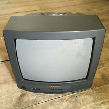 """FAULTY Panasonic CRT 14"""" inch TV TX14S3T Retro Gaming Old Vintage Spares/Repairs"""