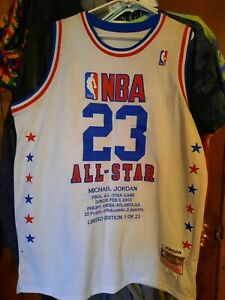 NEW! RARE 2003 LIMITED EDITION 1 of 23 MICHAEL JORDAN LAST ALL-STAR GAME JERSEY