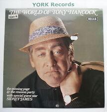 TONY HANCOCK - World Of Tony Hancock - Excellent Con LP Record Decca PA 417