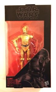 Star Wars The Black Series C-3PO Widerstands-Basis Protokolldroid Hasbro NEU
