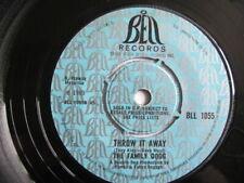 Family dogg -  Throw it away / Away of life 7'' vinyl Bell  BLL 1055