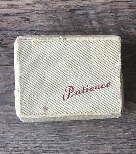 Altes Patience Spiel  Rome Mini Spielkarten mit Original Verpackung