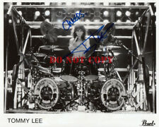 MOTLEY CRUE 8x10 Photo - TOMMY LEE Drummer THE DIRT Dr Feelgood Autograph SIGNED