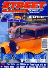 STREET MACHINE JANUARY 1999-FREE POSTER-200BHP FORD ZETEC-39 LINCOLN ZEPHYR-V8