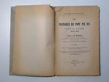 abbé J.-M. Meunier LES PASSAGES DU PAPE PIE VII DANS LA NIÈVRE 1804-1812 Nevers