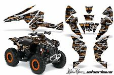 AMR Racing CanAm Renegade500/800/1000 Graphic Kit Wrap Quad Decal ATV All SH ORG