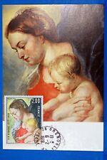 RUBENS VIERGE A L ENFANT     CPA Carte Postale Maximum Yt 1958 GF