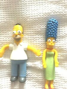 Homer and Marge - Simpsons - toy figures